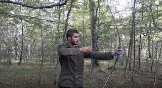 arco de madera arma casera