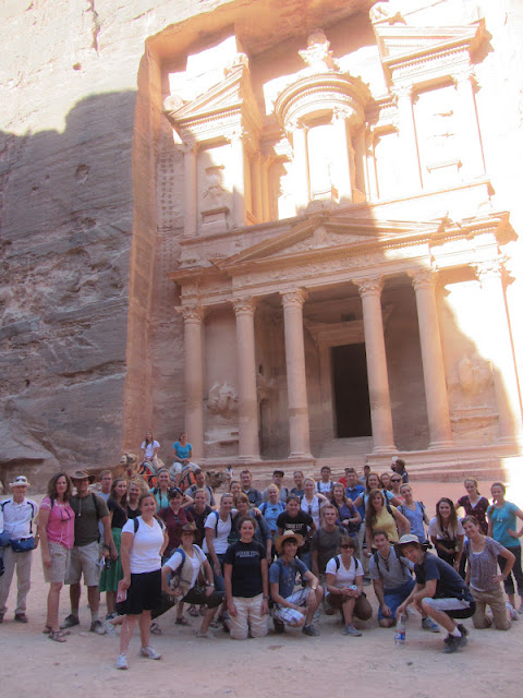 Huntsmans in the Holy Land: Day 2: Petra and Shoubak Castle
