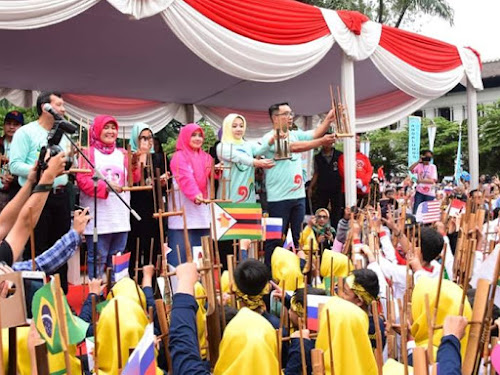 Angklung Day 2018 Gedung Sate