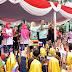 Peringatan Angklung's Day 2018 di Gedung Sate Berhasil Pecahkan Rekor