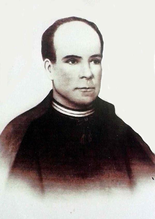 Beato Francisco Palau y Quer, com 20 anos no seminário diocesano de Lérida.