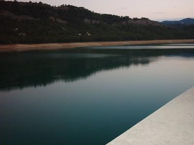 Pantano ,embalse, Pena ,Beceite ,frontera ,Valderrobres, aguas