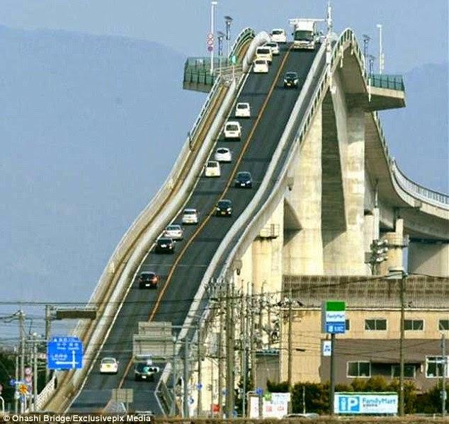 Eshima Ohashi Bridge japan