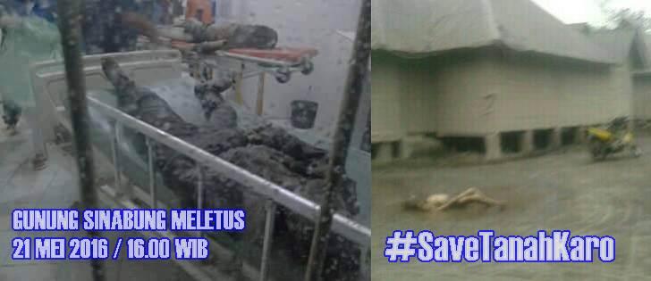 Foto: Gunung Sinabung Hari ini Meletus Menewaskan 3 Warga, Bencana Alam Setelah Banjir Bandang Sibolangit,