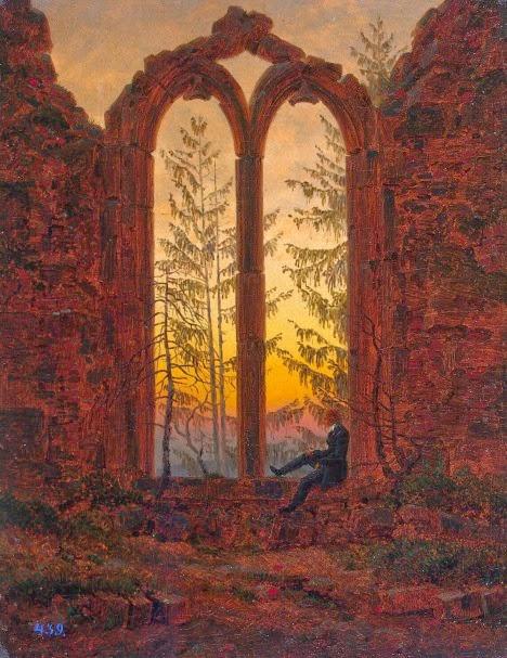 Quadro romanticismo Caspar David Friedrich, Il sognatore