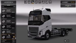 Tandem Volvo FH 16 2012