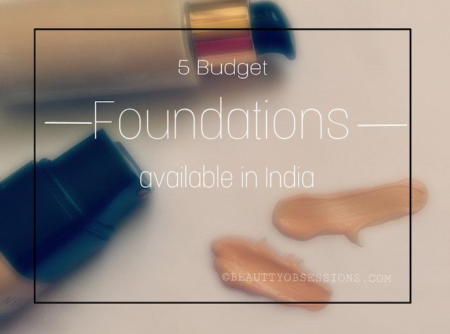 5 Budget Foundations Available in India