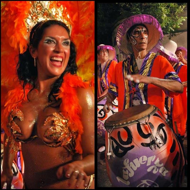 Carnaval. Desfile de Llamadas. Montevideo.La Fuerza. 2010.