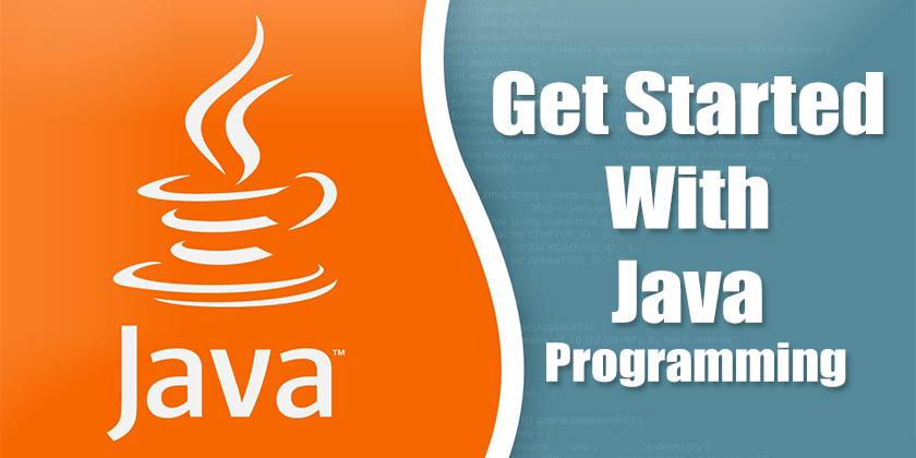 get started with java programming