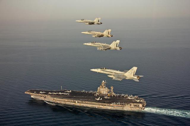 طبول الحرب تقرع.. الولايات المتحدة تحرك قواتها اتجاه الخليج و إيران تتأهب