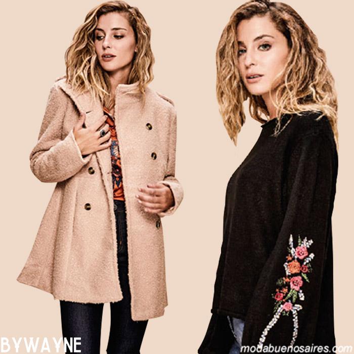 Tapados invierno 2019 ropa de moda invierno 2019.