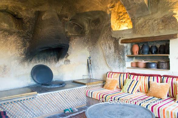 3000 yıllık bir Hitit tandırı, Fresco Cave Otel Ürgüp Kapadokya