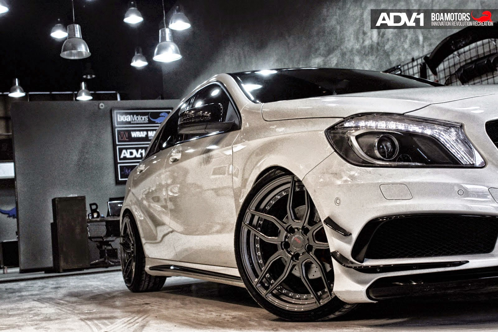 mercedes a wheels