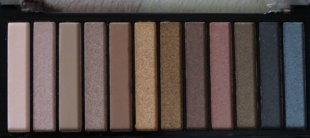 Makeup Revolution London Iconic 1 Redemption Palette Review Swatches Ingredients