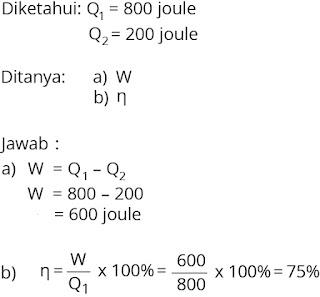 Pembahasan soal fisika bab termodinamika nomor 6
