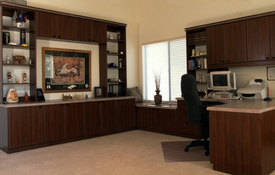 Home OFFICE FURNITURE Peninsula Desk Wall Units  Best Office