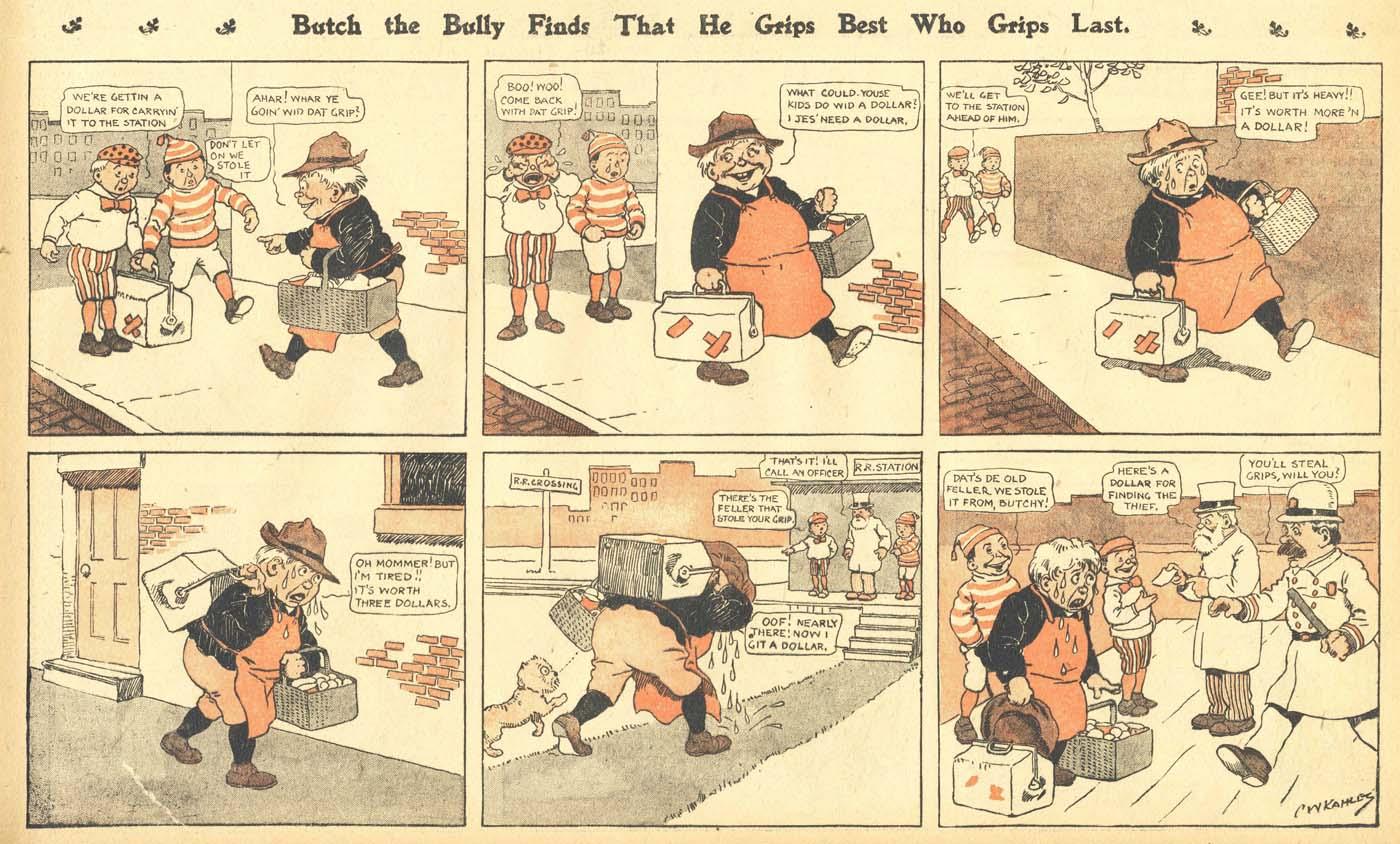 1900s in comics