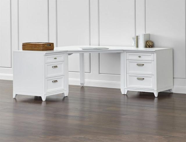 best buy white home office furniture desks John Lewis for sale