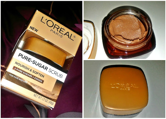L'Oreal Paris Nourish & Soften Pure-Sugar Scrub Review from Influenster