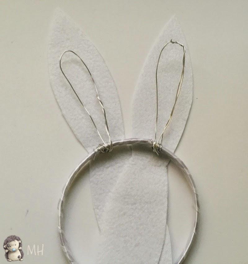 Diadema con Orejitas de Conejo para Pascua,
