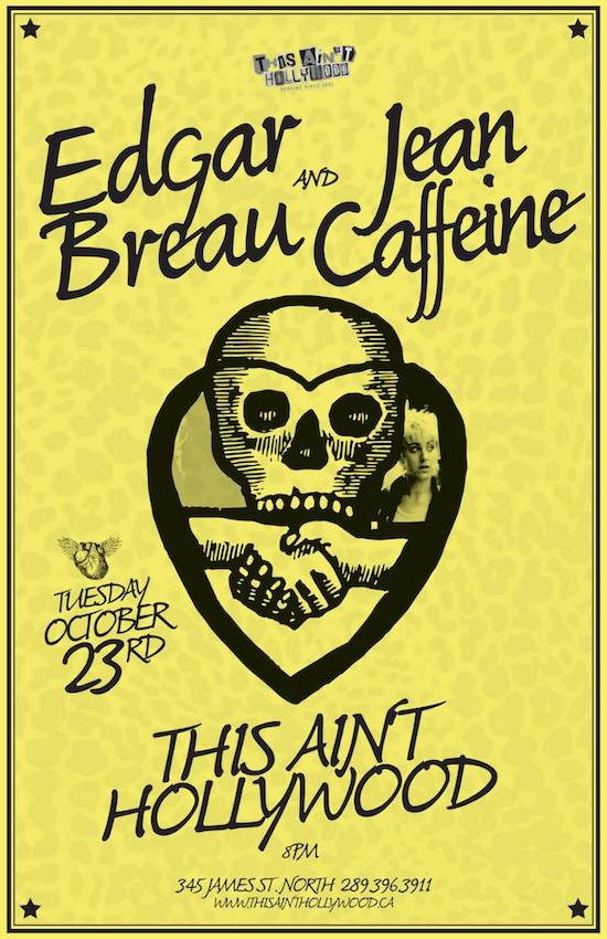 Edgar Breau & Jean Caffeine's North American Folk Punk Agreement @ This Ain't Hollywood, Tuesday