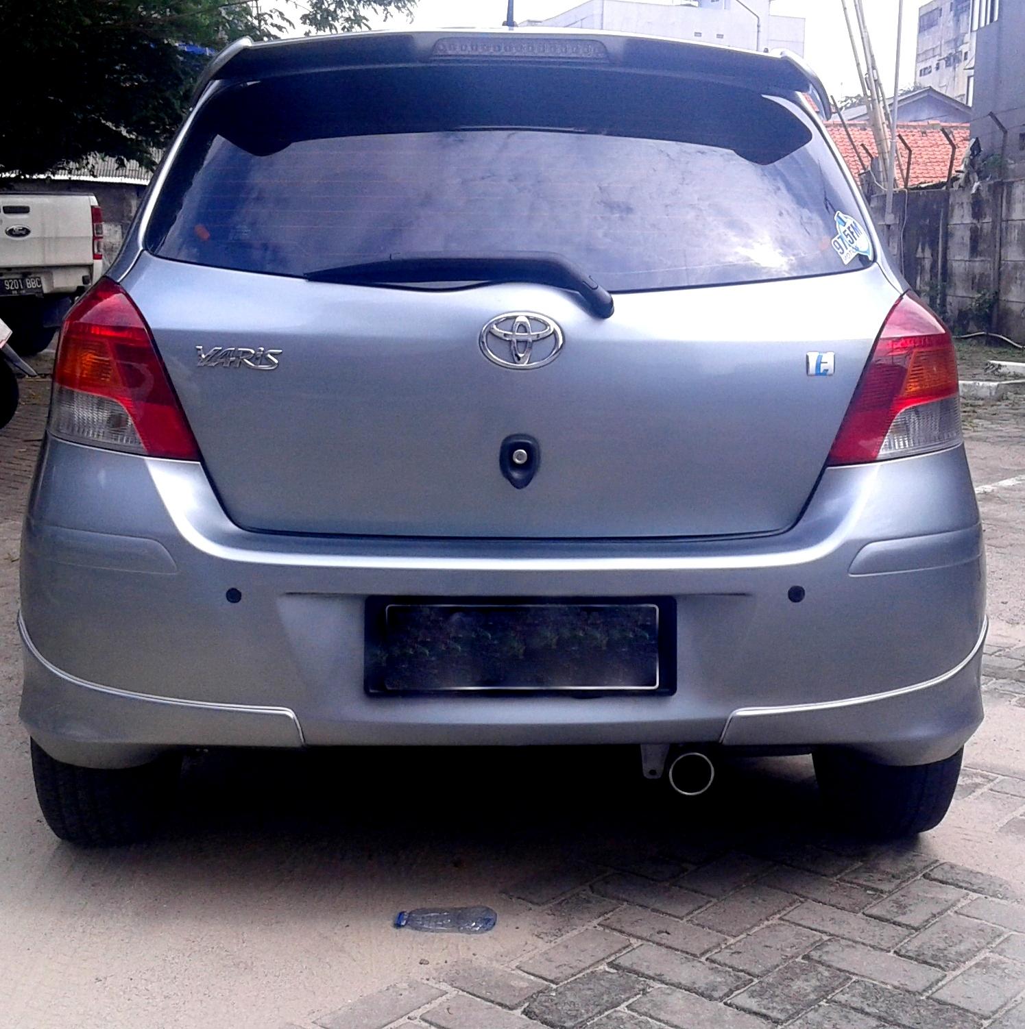 Toyota Yaris Trd Matic All New Camry Thailand Gadai24 Dijual Cepat E 2010 Silver