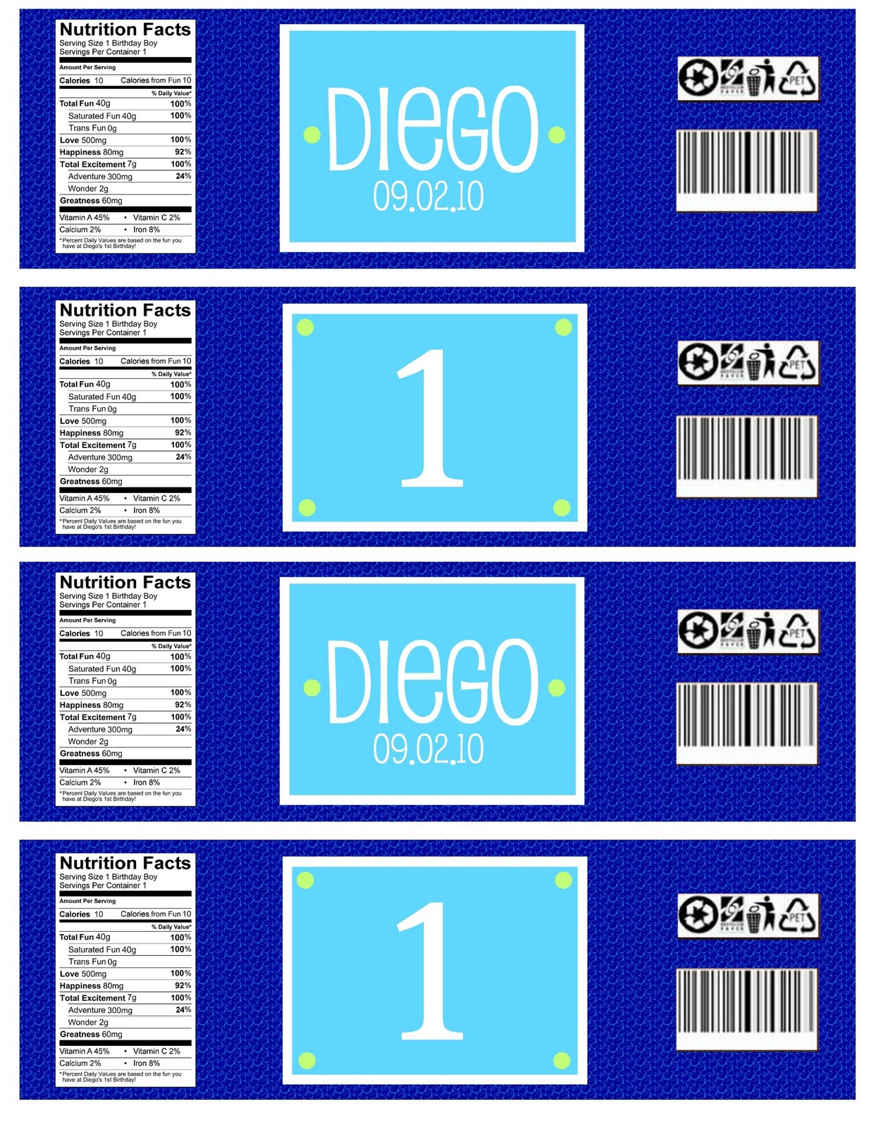 bottled water label template - oh boy oh joy my photo editing secret and it 39 s free