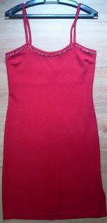 vestido vermelho Luiza M