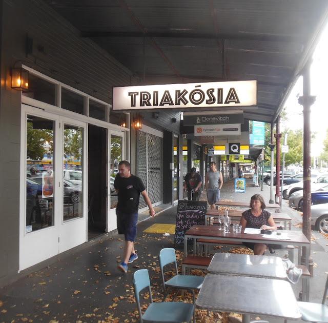 Triakosia, Clifton Hill