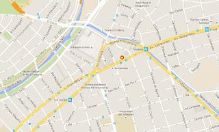 The Black Rock Pub mapa ubicación