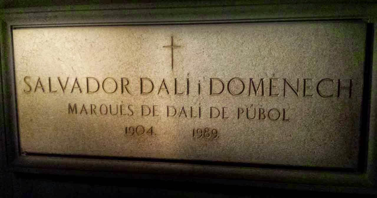 Tumba Salvador Dalí