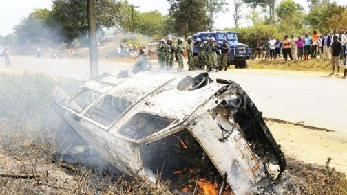 Six burnt to death in Ogun auto accident
