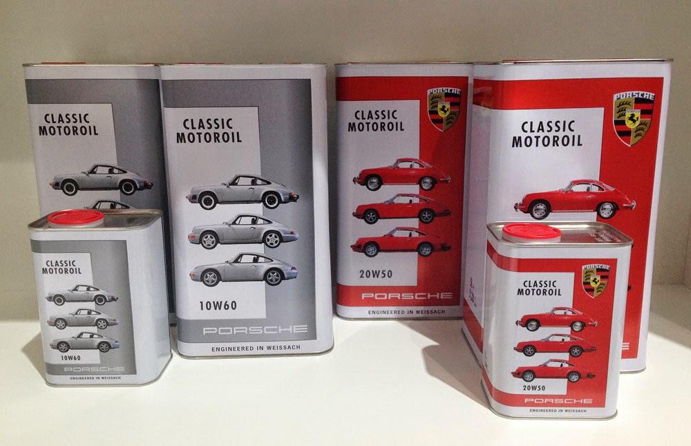 The info at the Porsche Classic Oils web site
