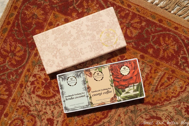 Just Herbs Soaps Gift Box Review India