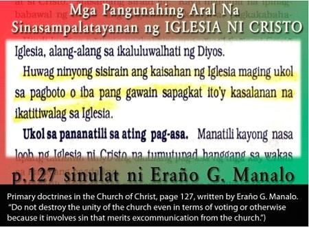 Coercive Bloc Voting: Against Philippine Constitution and