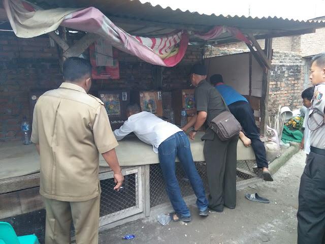 Heboh, Polisi Terima Setoran Dari Pemilik Dindong Terekam Kamera.