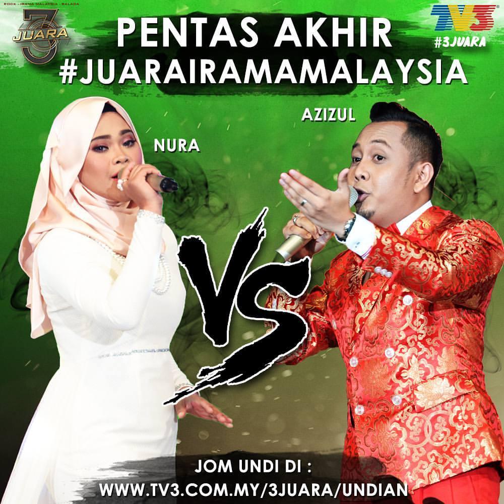 3 Juara Irama Malaysia