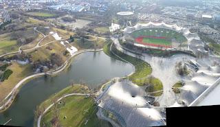 Olympiapark y Olympiastadium.