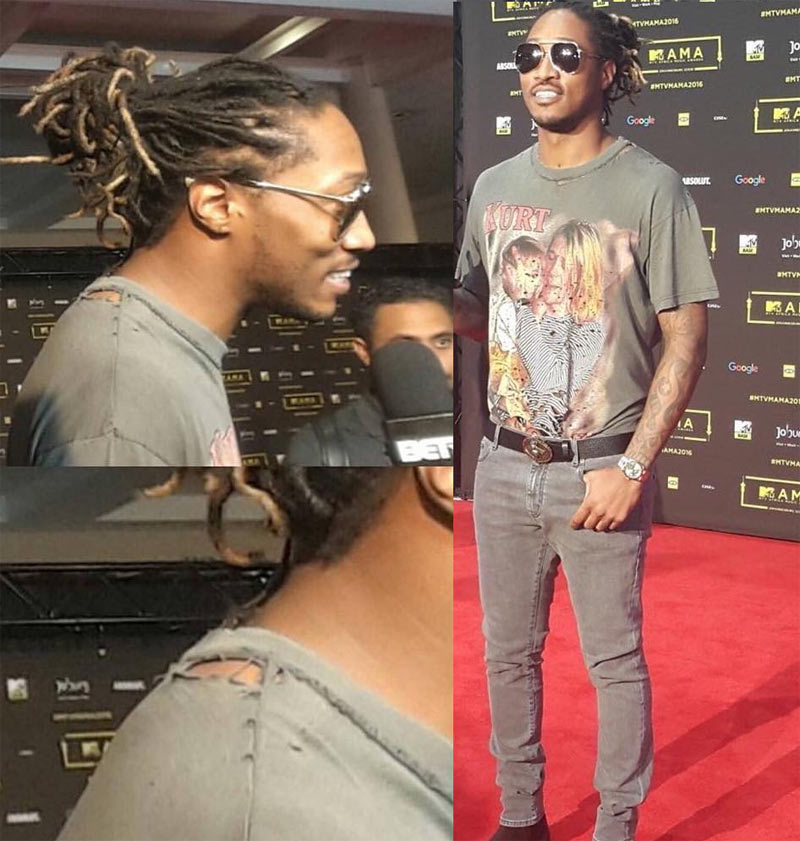 Move over Korede, US rapper Future wore rags to MTV Africa Music Awards 2016