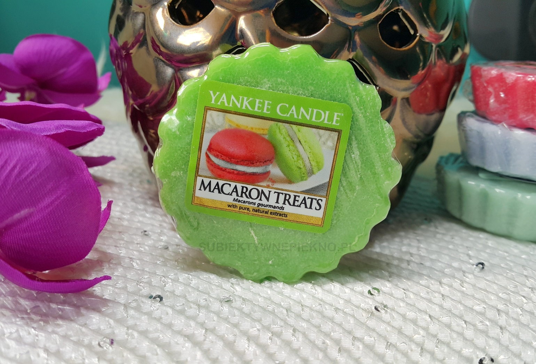 Wosk zapachowy Macaron Treats Yankee Candle. Blog, opinie.