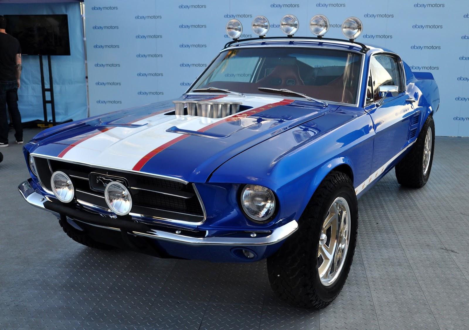 Just A Car Guy Ebay Motor S Rowdy 67 Mustang Fastback