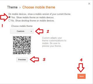 blogger widget display