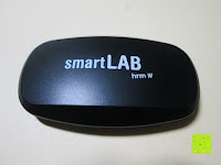 Vorderseite: smartLAB hrm W Bluetooth 4.0 /ANT Herzfrequenzstoffgürtel NEU nachfolger von smartLABhrm und smartLABhBeat.
