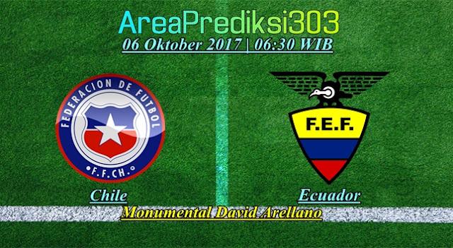 Prediksi Skor Chile vs Ecuador 06 Oktober 2017