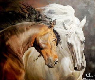fuerza-movimiento-caballos-pintados