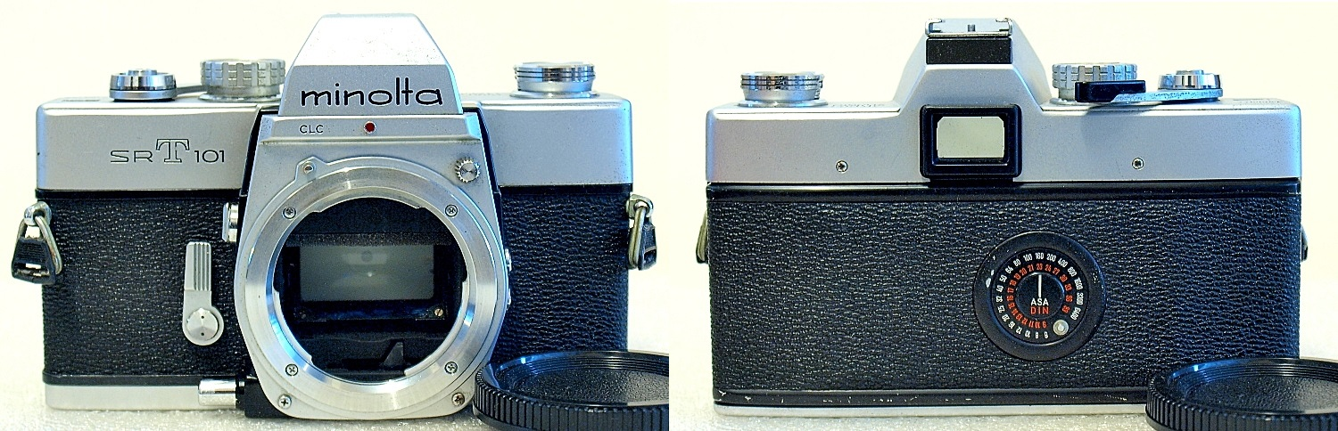 Minolta SRT-101 (Chrome) Body #987