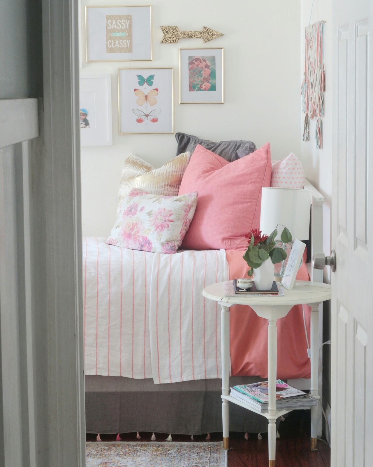 My Daughter's Room: Pre-Teen Bedroom Refresh Reveal