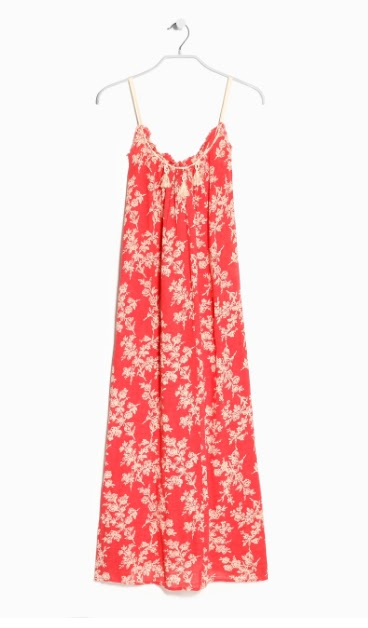 Mango Floral Long Dress