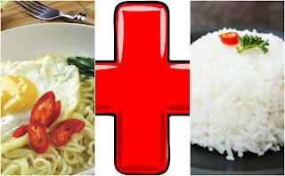Benarkah Makan Mie Instan Dan Nasi Berbahaya ?