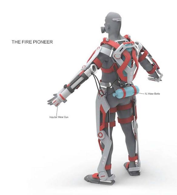Alat Mirip Iron Man Ini Mungkin Akan Membantu Petugas Pemadan Kebakaran Di Masa Depan